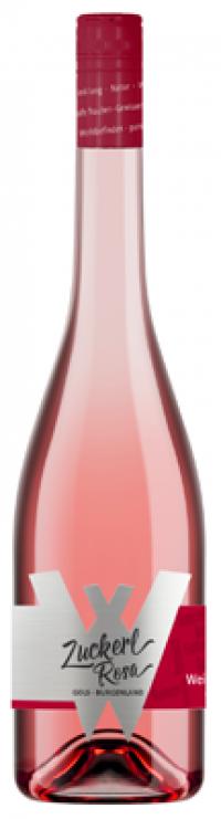 Weingut weiss Zuckerlrosa ružové víno bez histamínu.